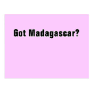 "'Madagascar "" (Madagascar) T-Shirt and etc Postcard"