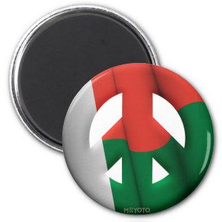Madagascar Refrigerator Magnet