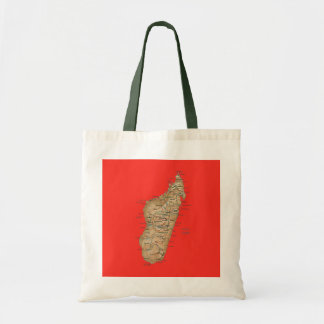 Madagascar Map Bag