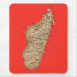 Madagascar Map Mousepad
