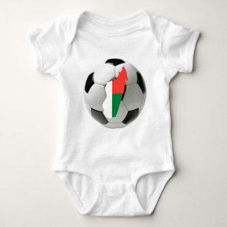 Madagascar national team baby bodysuit