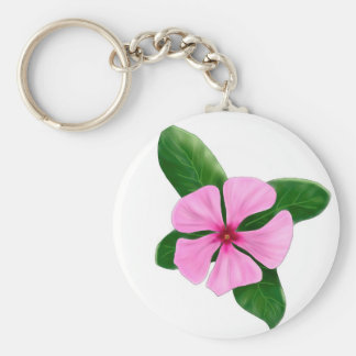 Madagascar Periwinkle key ring