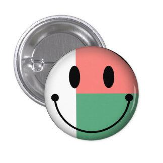 Madagascar Smiley Button