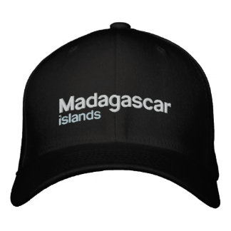 Madagascar T-Shirt Embroidered Baseball Caps