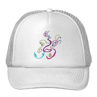 Madam Butterfly, Graphic Illustration Trucker Hat