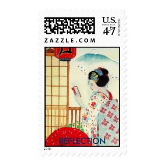 Madam Butterfly Postage
