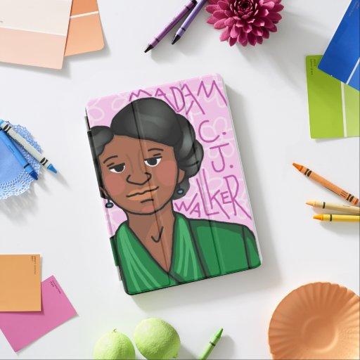 Madam C. J. Walker iPad Pro Cover
