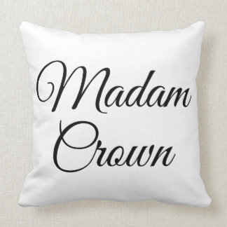 Madam Crown Pillow