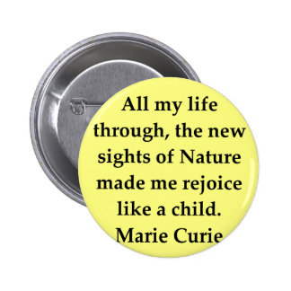 Madam Curie quote Pins