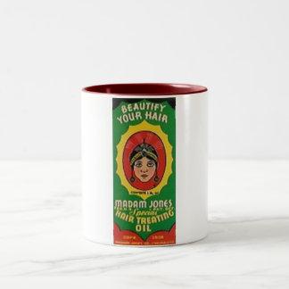 Madam Jones label mug