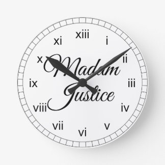 Madam Justice Clocks