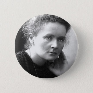 madam marie curie button
