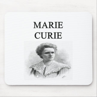 madam marie curie mouse pad