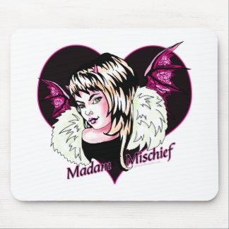 Madam Mischief Mousepad
