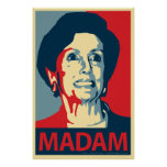 Madam Pelosi Parody Poster