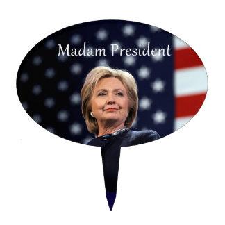 Madam President Style 1 Cake Topper