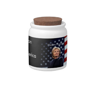 Madam President Style 1 Candy Jar