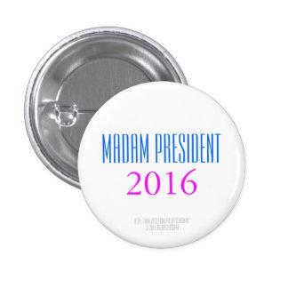 MADAM PRESIDNT 2016 by HillaryClinton4u Pin