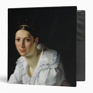 Madama Claude Marie Dubufe  1818 3 Ring Binder