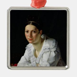 Madama Claude Marie Dubufe  1818 Metal Ornament