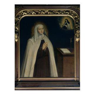 Madame Acarie  known as Marie de l'Incarnation Postcard