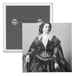 Madame Anna Bishop Pinback Button