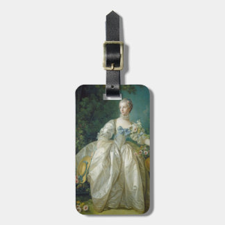 Madame Bergeret, c. 1766 (oil on canvas) Luggage Tag