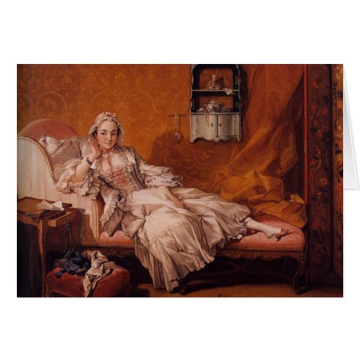 Madame Boucher by François Boucher Greeting Cards