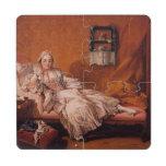 Madame Boucher by Francois Boucher Puzzle Coaster