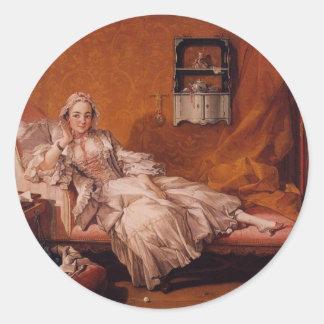 Madame Boucher Classic Round Sticker