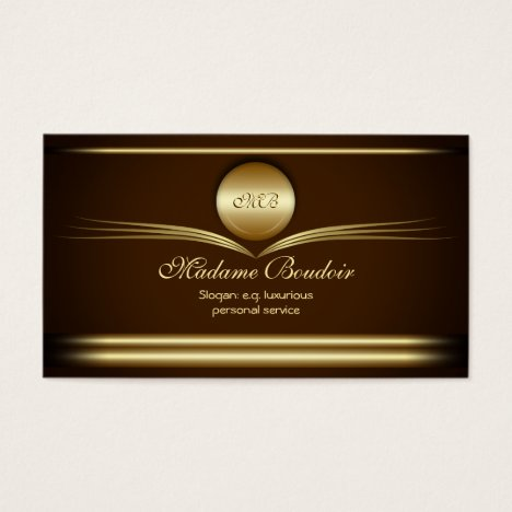 Madame Boudoir - Personal Design Service Business Card