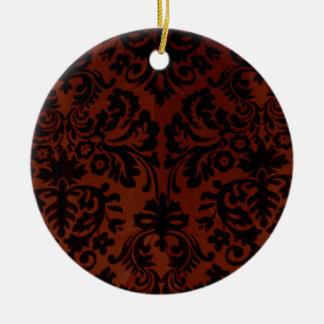 Madame Brocade Ceramic Ornament