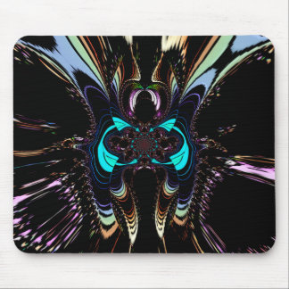 """MADAME  BUTTERFLY"" Art Print Mousepad"