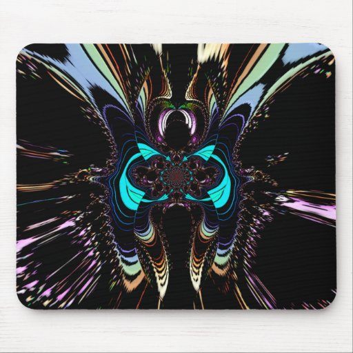 """MADAME  BUTTERFLY"" Art Print Mousepad"