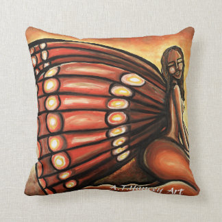 Madame Butterfly I Pillow