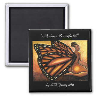 Madame Butterfly II Magnet