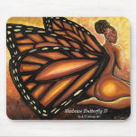 madame butterfly ii mousepads