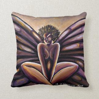 Madame Butterfly III Pillow