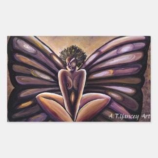 Madame Butterfly III Sticker