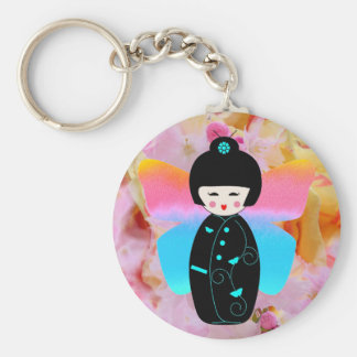 Madame Butterfly keychain