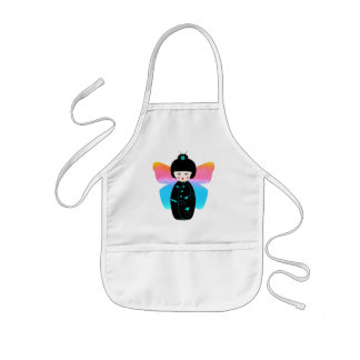 Madame Butterfly kid's apron