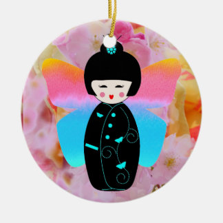 Madame Butterfly ornament