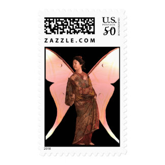 Madame Butterfly Postage