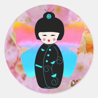 Madame Butterfly sticker