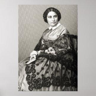 Madame Caroline Marie Felix Miolan-Carvalho Poster