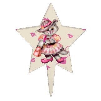 MADAME  CAT  CARTOON STAR Cakepick