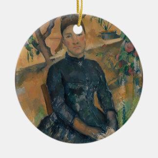 Madame Cézanne (Hortense Fiquet, 1850–1922) Ceramic Ornament