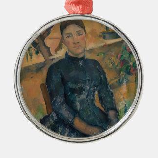 Madame Cézanne (Hortense Fiquet, 1850–1922) Metal Ornament