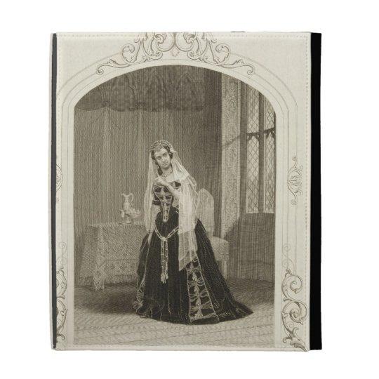 Madame Celeste as the Princess Katherine, Act V Sc iPad Folio Cases