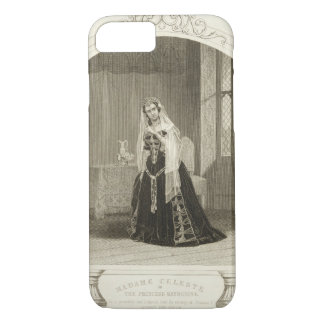 Madame Celeste as the Princess Katherine, Act V Sc iPhone 7 Case